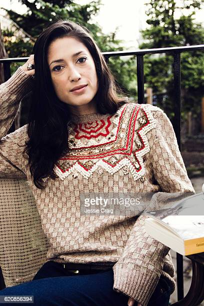 Poet and writer Fatima Bhutto is photographed in London England