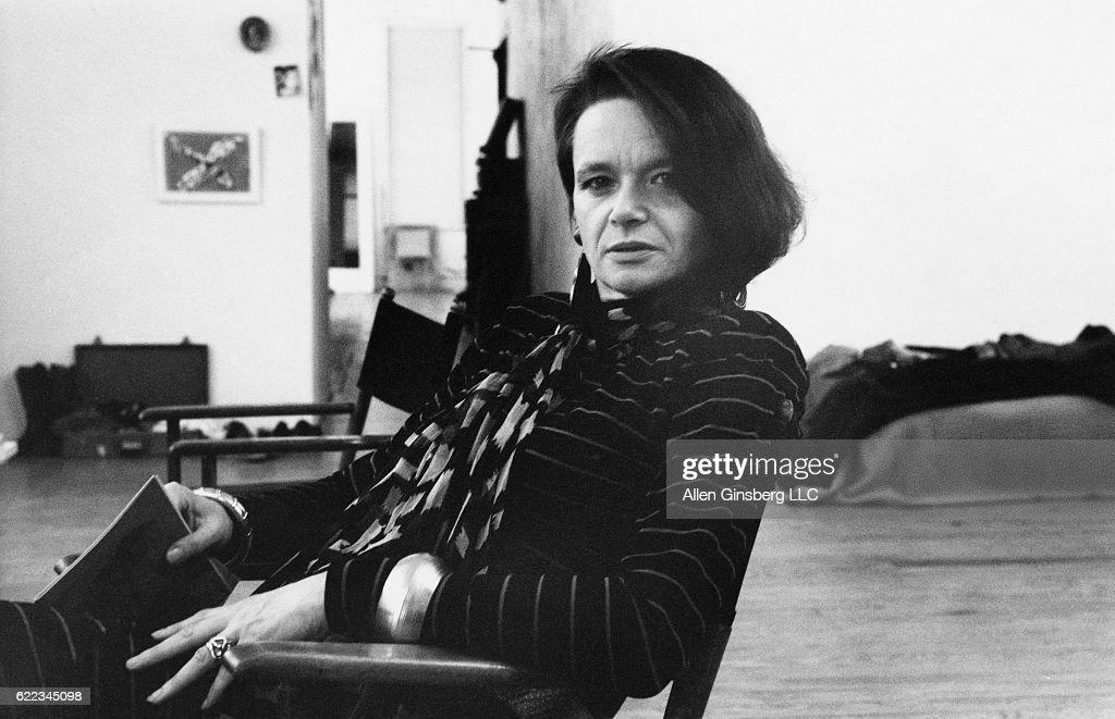 Poet and Performance Artist Anne Waldman : News Photo