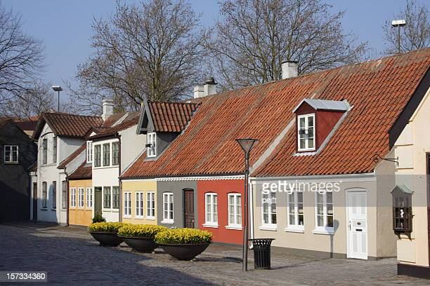 poet hans christian andersen home town odense - pejft stock pictures, royalty-free photos & images
