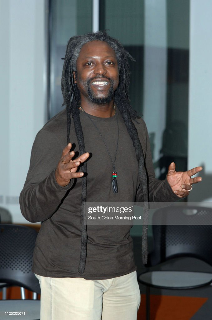 Poet Levi Tafari In Hong Kong Working With The Standing