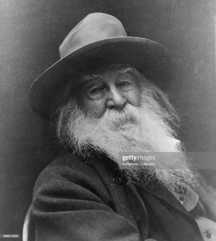 Walt Whitman Portrait : News Photo