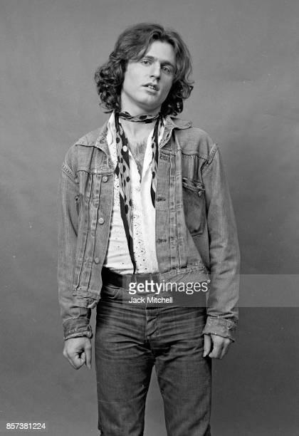 Poet/Photographer Gerard Malanga photographed in Manhattan in 1971