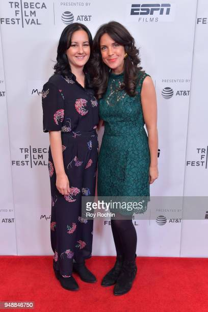 Poh Lin Lee and Director Gabrielle Brady attend a screening of Island Of The Hungry Ghosts during the 2018 Tribeca Film Festival at Cinepolis Chelsea...