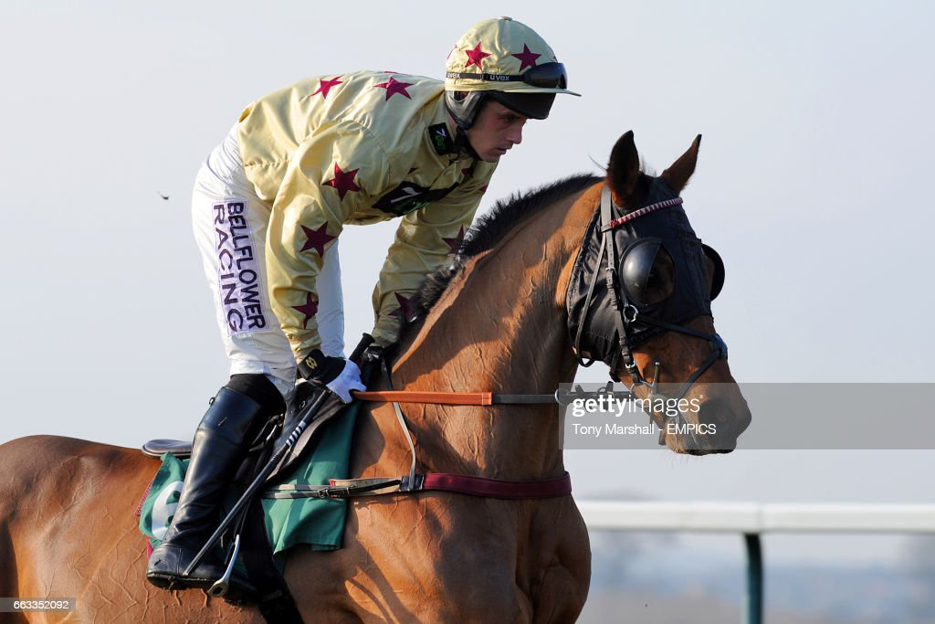 Poilgotti ridden by jockey Sean Quinlan during the Gg com