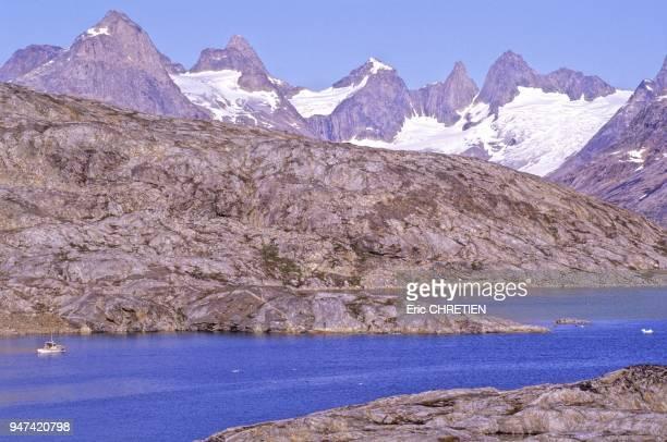Point culminant 1438 metres Region d'Ammassalik