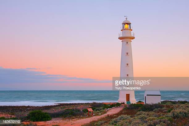 point lowly lighthouse - south australia stock pictures, royalty-free photos & images