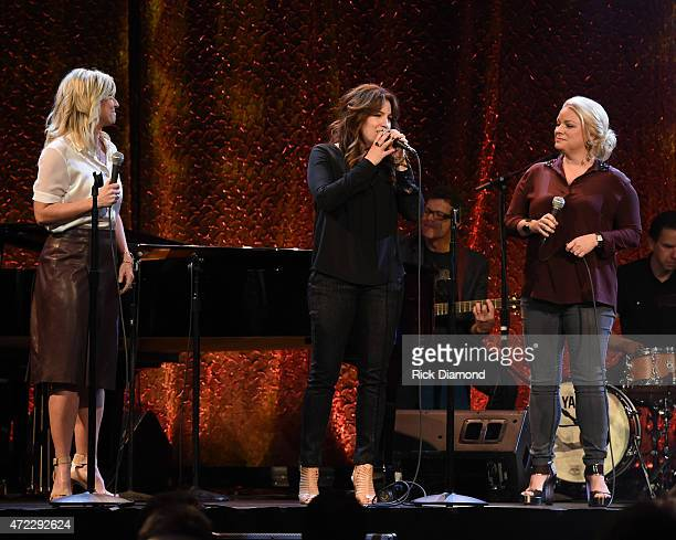 Point of Grace performs during The 2nd Annual GMA Honors at Allen Arena, Lipscomb University on May 5, 2015 in Nashville, Tennessee.