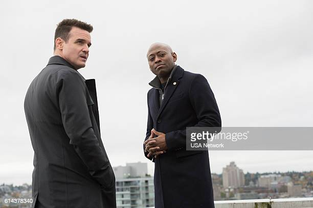 """Point of Impact"""" Episode 101 -- Pictured: Eddie McClintock as Jack Payne, Omar Epps as Isaac Johnson --"""