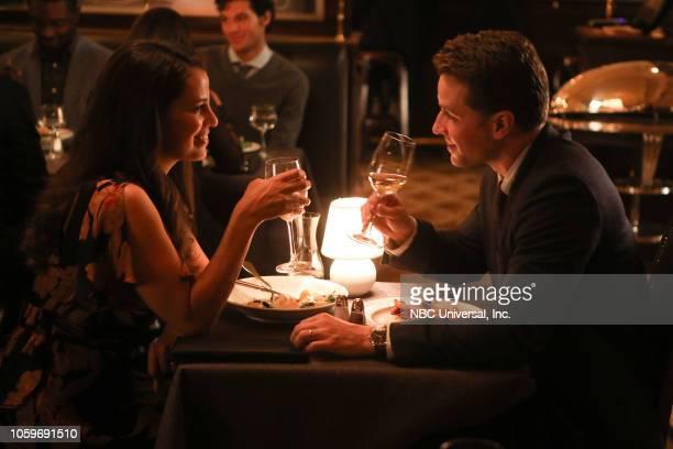 "Point Of No Return"" Episode 108 -- Pictured: Athena Karkanis as Grace Stone, Josh Dallas as Ben Stone --"