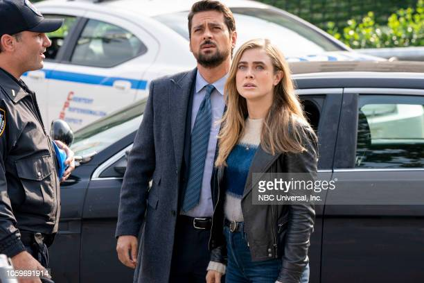 MANIFEST Point Of No Return Episode 108 Pictured JR Ramirez as Det Jared Vasquez Melissa Roxburgh as Michaela Stone