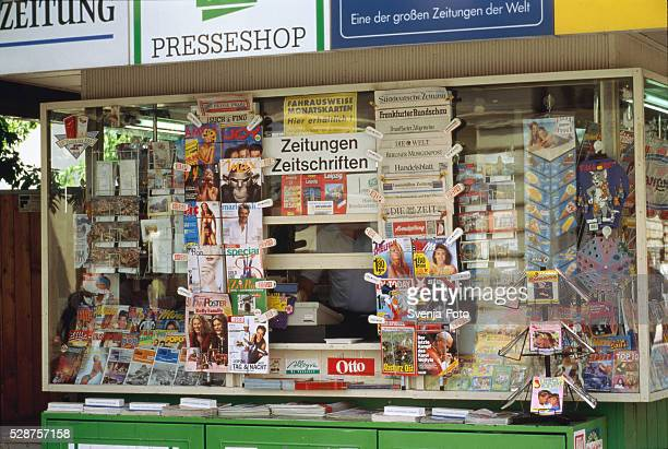 Point of sales for newspapers