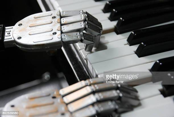 Point of View - Robot playing piano