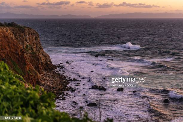 point vicente - rancho palos verdes stock pictures, royalty-free photos & images