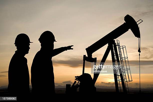 Pointing at a Pumpjack