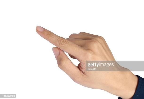 Zeigt Finger