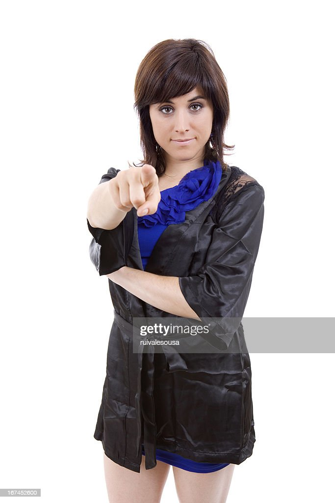 pointing : Stock Photo