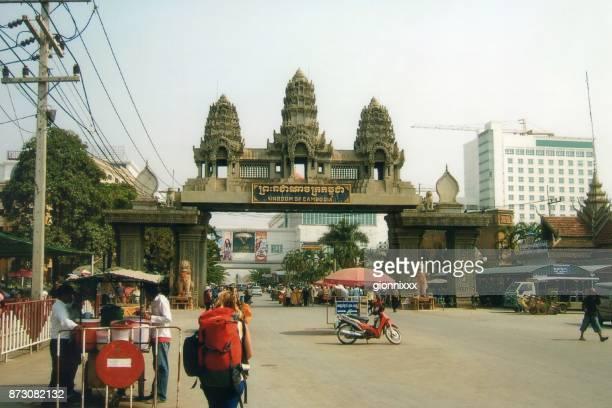 Poipet border crossing, Thailand-Cambodia