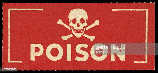 poison label - toxin stock pictures, royalty-free photos & images