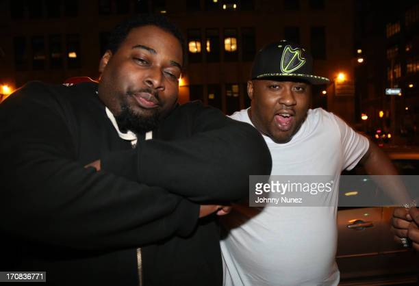Poison Pen and Royal Flush attend at SOB's on June 18 2013 in New York City