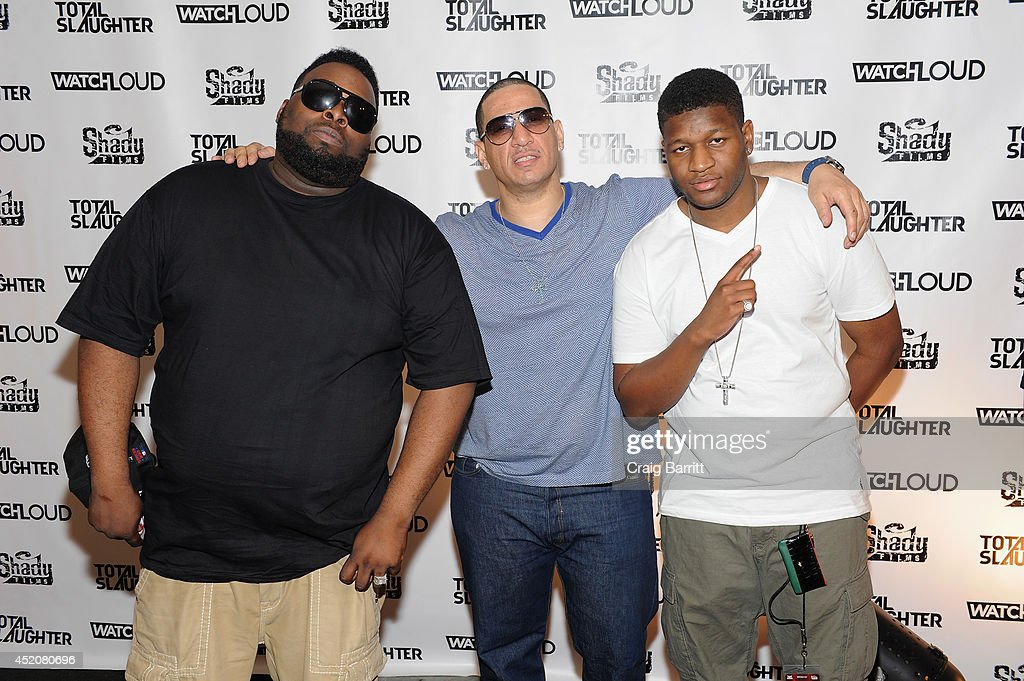 Total Slaughter: The Biggest Rap Battle Event Ever, Hosted By Shady Films, Slaughterhouse And WatchLOUD.com - Arrivals : News Photo