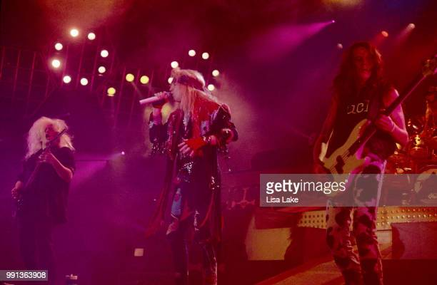 Poison performs on November 20 1990 in Philadelphia Pennsylvania