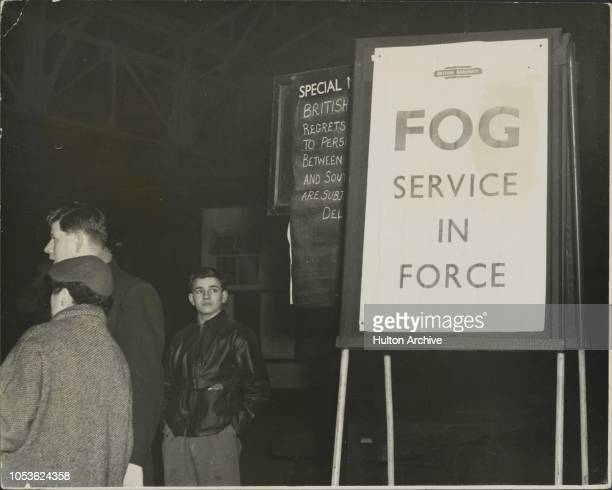 Poison Smog Hits London, The most poisonous smog since the 1952 killer, in which 4,000 people died in London alone, struck London and the Home...