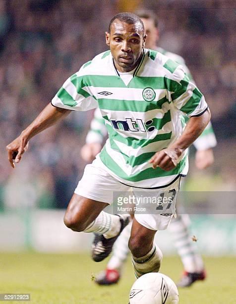 Pokal 02/03 Glasgow Celtic Glasgow VfB Stuttgart 31 Didier AGATHE/Celtic