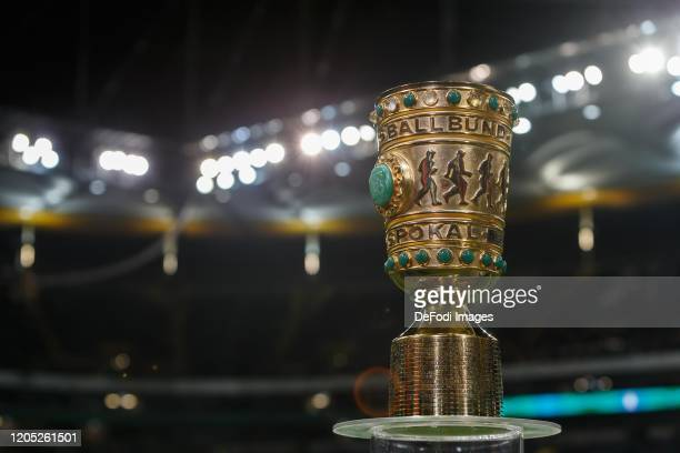 Pokal Cup prior to the DFB Cup quarterfinal match between Eintracht Frankfurt and Werder Bremen at Commerzbank Arena on March 4, 2020 in Frankfurt am...