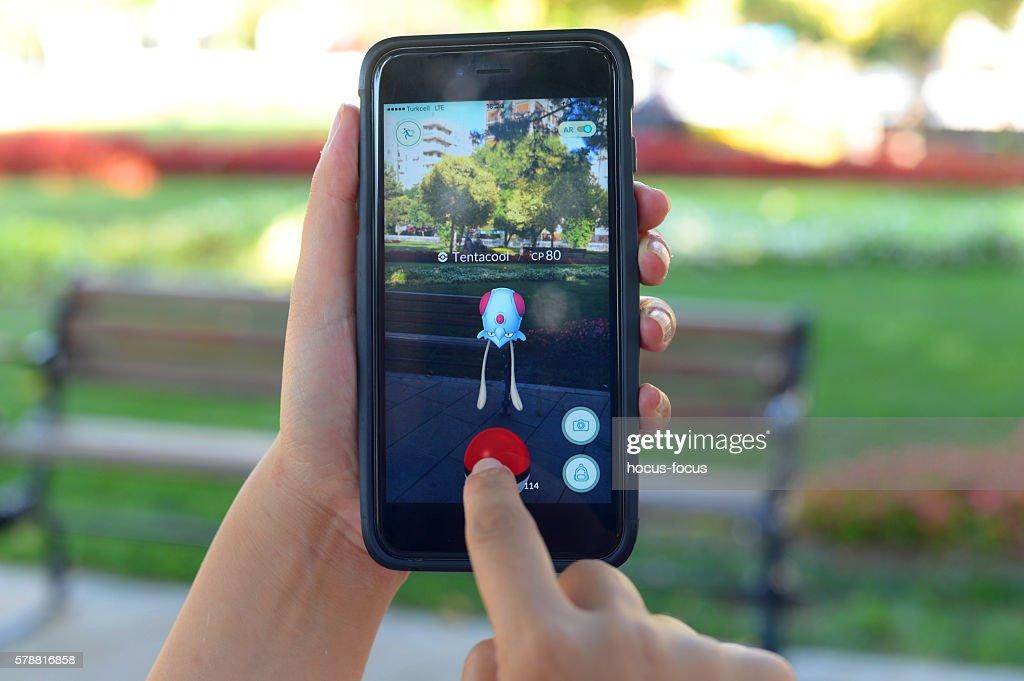 Pokemon Go : Stock Photo