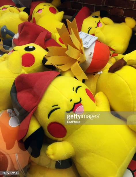Pokemon 'Go' video game continues the pop culture fad Japanese shop for Pokemon characters in Tokyo Japan on October 29 2017