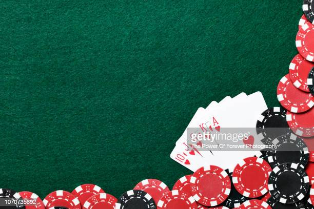 poker background - gambling table stock pictures, royalty-free photos & images
