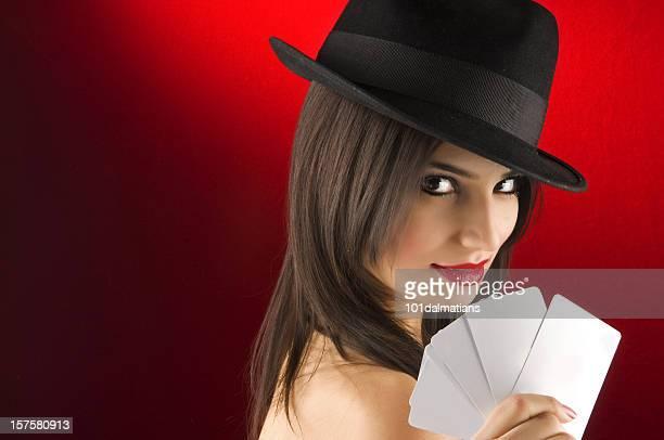 Fille de Poker