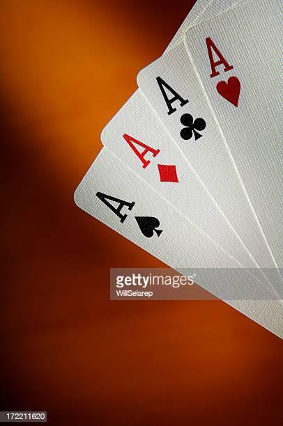 Poker of ace's