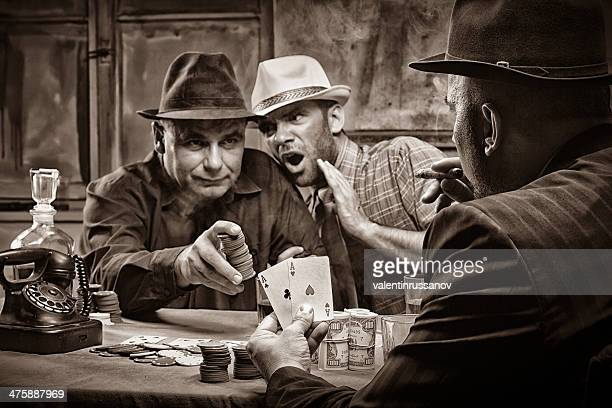 poker - gangster stock pictures, royalty-free photos & images