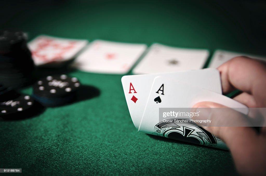 Poker : Foto de stock