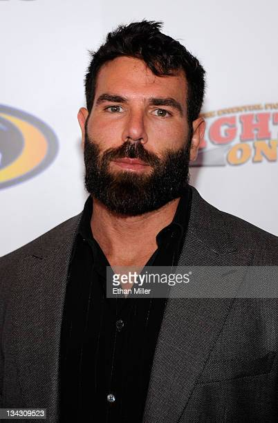Poker player Dan Bilzerian arrives at the Fighters Only World Mixed Martial Arts Awards 2011 at the Palms Casino Resort November 30 2011 in Las Vegas...