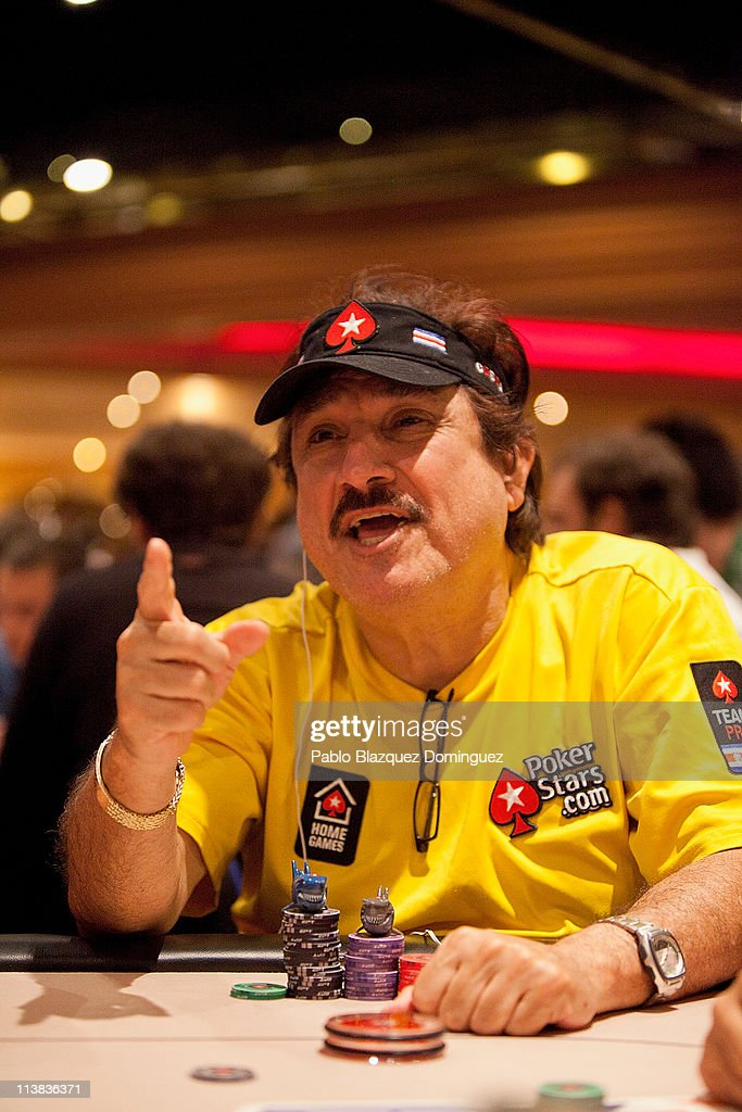 Poker player Humberto Brenes plays at the European Poker Tour 2011 in the Casino Gran Madrid on May 7, 2011 in Torrelodones, Spain.