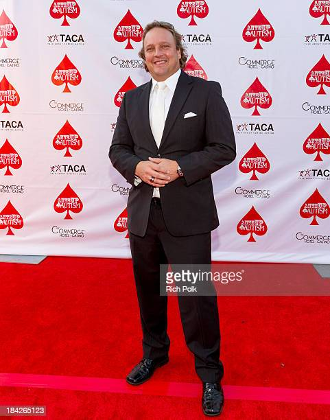 Poker player Kenna James attends the 7th Annual Ante Up For Autism Event At The St Regis Monarch Beach Resort on October 12 2013 in Dana Point...