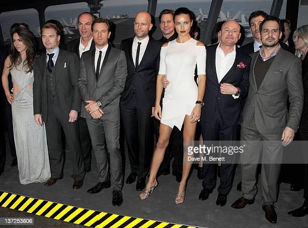 Poker player Olivia Boeree, singer Ronan Keating, actor Herbert Knaup, actor Ewan McGregor, filmmaker Marc Forster, actor Thomas Heinze, model...