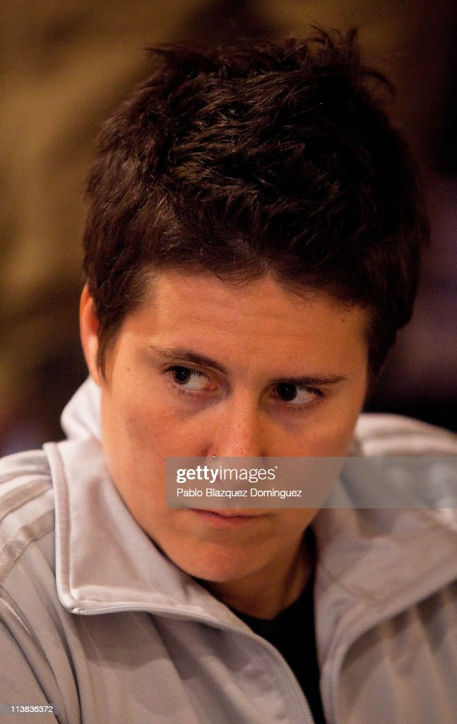 Poker player Vanessa Selbst plays at the European Poker Tour 2011 in the Casino Gran Madrid on May 7, 2011 in Torrelodones, Spain.