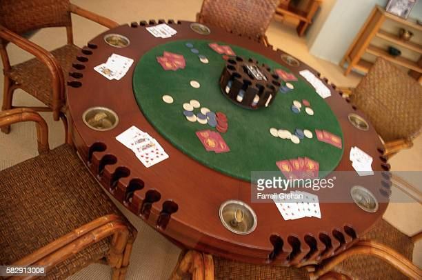 Poker Table at Little White House