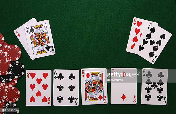 poker table interface - texas hold 'em stock pictures, royalty-free photos & images