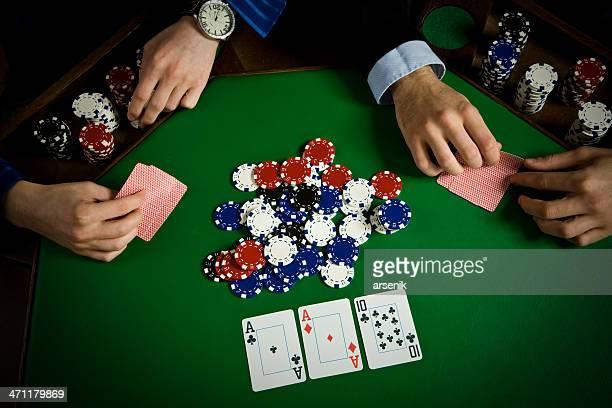 mesa de poker - poker - fotografias e filmes do acervo