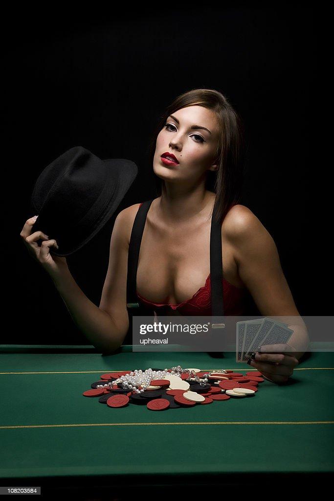 Poker Vixen : Stock Photo
