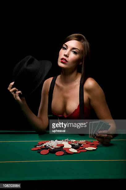 poker vixen - poker stock photos and pictures