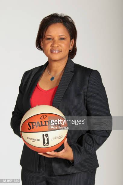 Pokey Chatman of the Indiana Fever poses for a portrait during Media Day at Bankers Life Fieldhouse on May 9 2017 in Indianapolis Indiana NOTE TO...