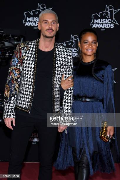 M Pokora and Christina Milian attend the 19th NRJ Music Awards on November 4 2017 in Cannes France