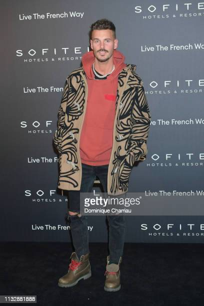 M Pokora attends La Nuit by Sofitel Party with CR Fashion Book at Pavillon Cambon on February 28 2019 in Paris France
