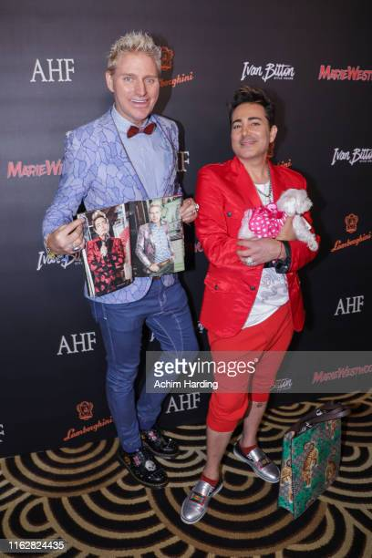Pol Atteu and Patrik Simpson at Waldorf Astoria Beverly Hills on July 17 2019 in Beverly Hills California