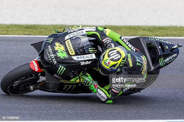 Pol Espargaro of Monster Yamaha Tech 3 during 2016 MotoGP motorcycle race of Australia at the Phillip Island Grand Prix Circuit Phillip Island...